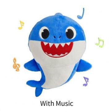 Bébé Requin: Jouet en Peluche Chantant