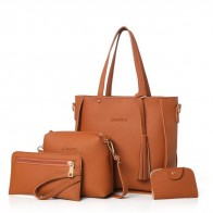 Bag Set de 4 Pièces Sac Femmes Bandoulière