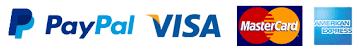 Paypal/ Visa / Master card / American Express